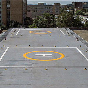 Heliport armaturer